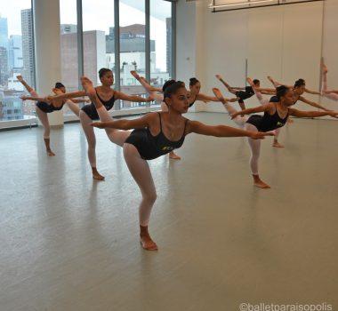 1. Workshop com Alvin Ailey em NY (10.09.19) - Foto Ballet Paraisópolis - BALLET PARAISÓPOLIS