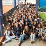 TQ SÃO PAULO 19.01.2018 ISMART Evento de boas vindas aos novis alunos ISMART realizado no Colégio Santo Américo, na zona sul de São Paulo. FOTO TIAGO QUEIROZ / ISMART