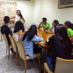 Reunião com jovens